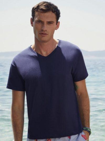 tricou cu guler in V, Original V-Neck T